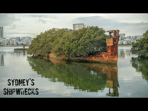 Abandoned Oz: Sydney's Shipwrecks - Homebush Bay