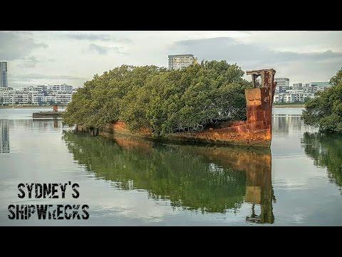 Abandoned Oz: Sydney's Shipwrecks - Homebush Bay