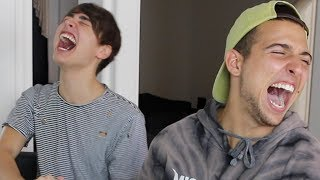 TRY NOT TO LAUGH CHALLENGE!! (GONE WRONG)