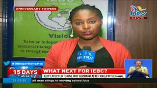 IEBC holds crisis meeting with lawyers to give way forward after Raila's withdrawal