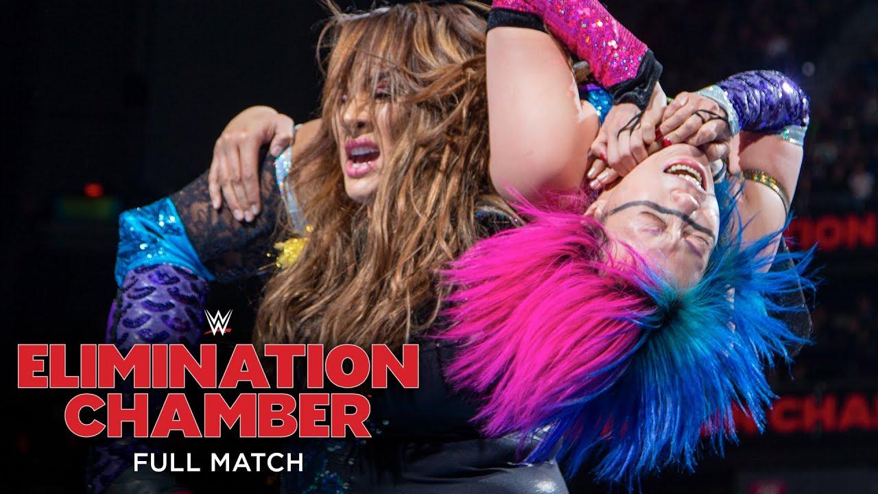 FULL MATCH - Asuka vs. Nia Jax: WWE Elimination Chamber 2018
