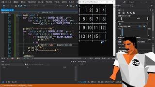 15パズルを小一時間で作ってみた【プログラミング実況】Programming 15 puzzle