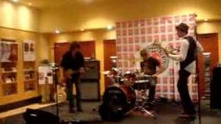 Live Band Playing At The Virgin Records MegaStore Mp3