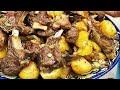 Казан - кабоб (куурдак). Жареная баранина с картофелем. Просто, вкусно, недорого.