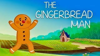 The Gingerbread Man | Fairy Tales | Gigglebox