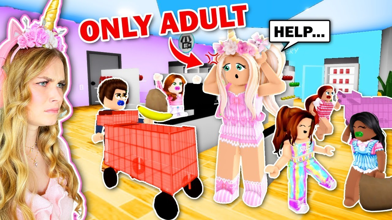 ONLY ADULT In Brookhaven (Roblox)