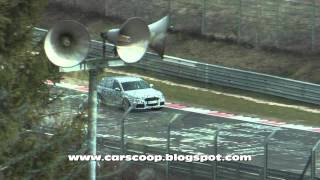 2014 Audi RS6 Avant Spied Testing