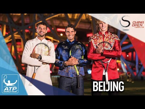 Nadal, Del Potro Relax At China Open Player Party In Beijing 2017