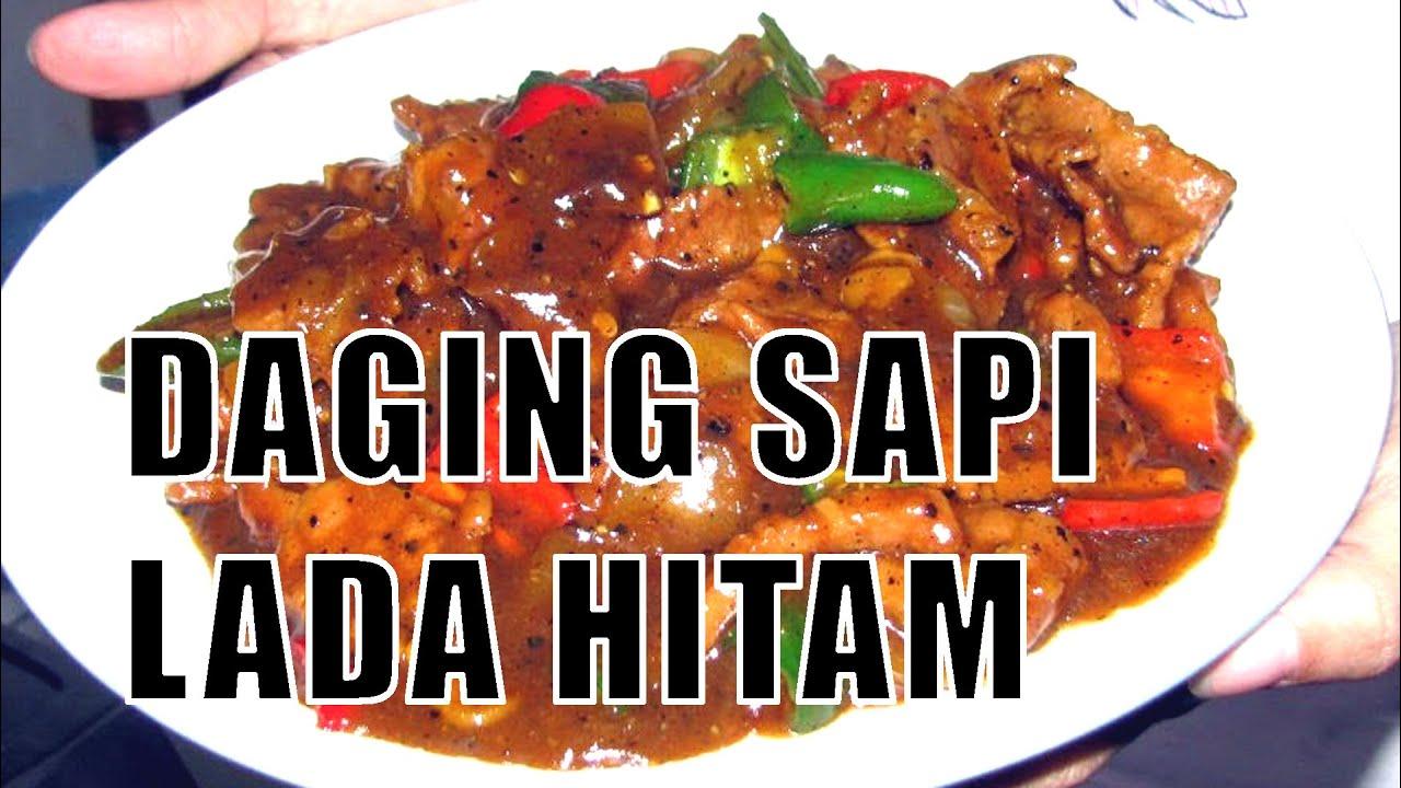 Resep Daging Sapi Lada Hitam Youtube Pronas Kari Ayam