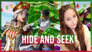 "HIDE AND SEEK IN GIFTY GIFTS ""THE BLOCK"" (FORTNITE: MINI-GAME #40)"