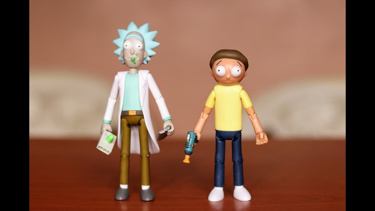 "Funko 5/"" Articulated Rick and Morty Rick Action Figure New"
