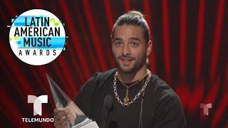 Maluma, reconocido con el premio Evolución Extraordinaria | Latin AMAs | Entretenimiento