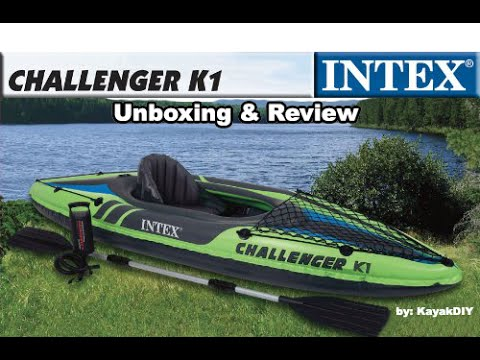 Intex Challenger K1 Kayak Portable Affordable