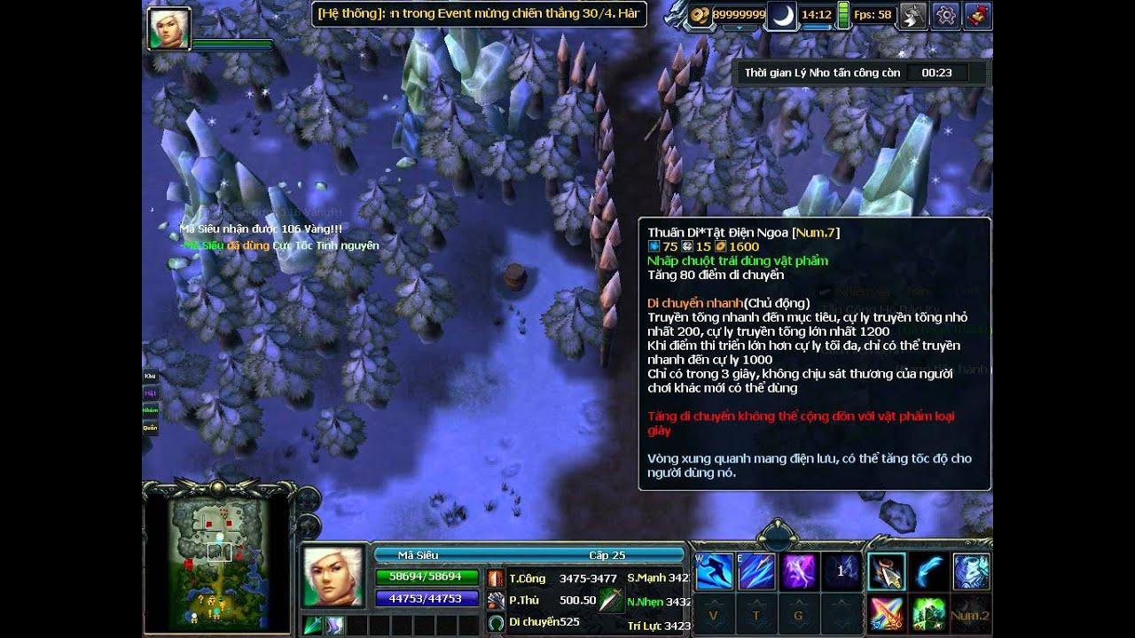 [3Q] Hack game 3q mộng tam quốc