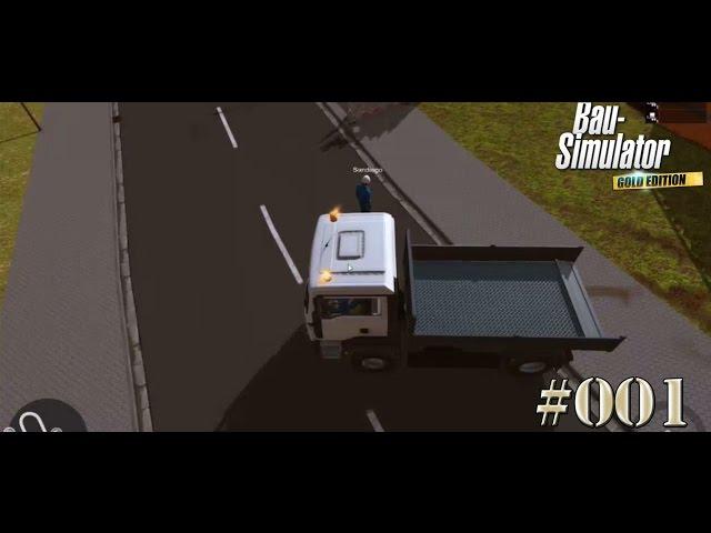 Let's Play Bau-Simulator 2015   Wir bauen ein Haus   Folge #001