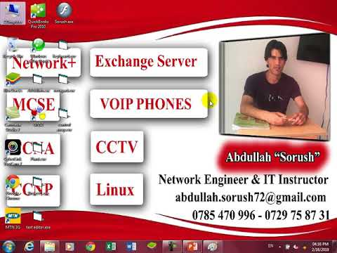 CCNA Part3 Toplogy Bus Ring Star And Network Devices HuB In Pashto By Abdullah Sorush