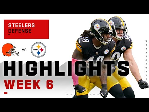 Steelers Defense Shuts DOWN the Browns | NFL 2020 Highlights
