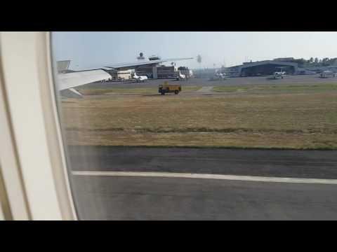 Atterrissage Air France à Libreville GABON