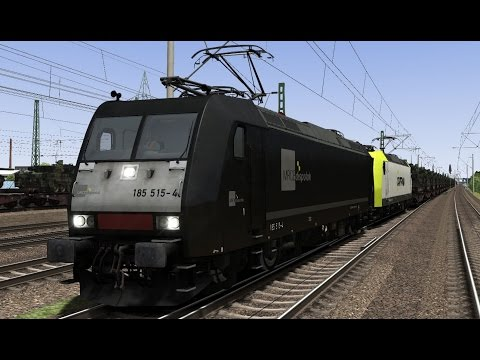 Panzerzug nach Leipzig BR185 Scenario by Think New Fly New Führerstandsmitfahrt Train Simulator