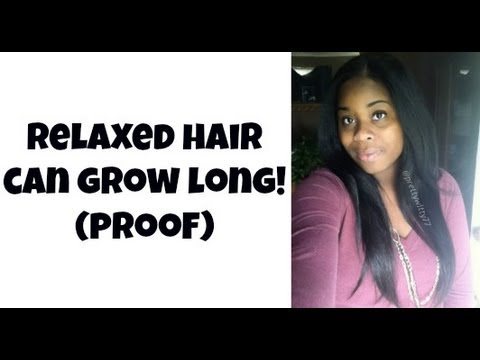 Long Relaxed Hair (Inspiration)