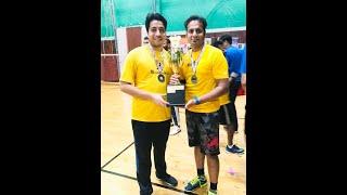 NEMA2020 Badminton -Sreekesh NK & Bharat Arora- Set 1/2