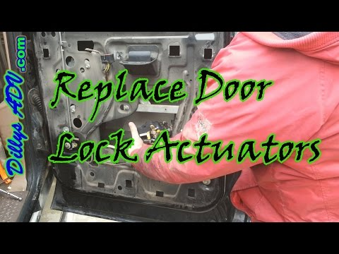 F350 Rear Door Lock Actuator Youtube