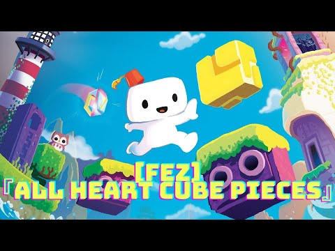 [Fez] - All Heart cube pieces