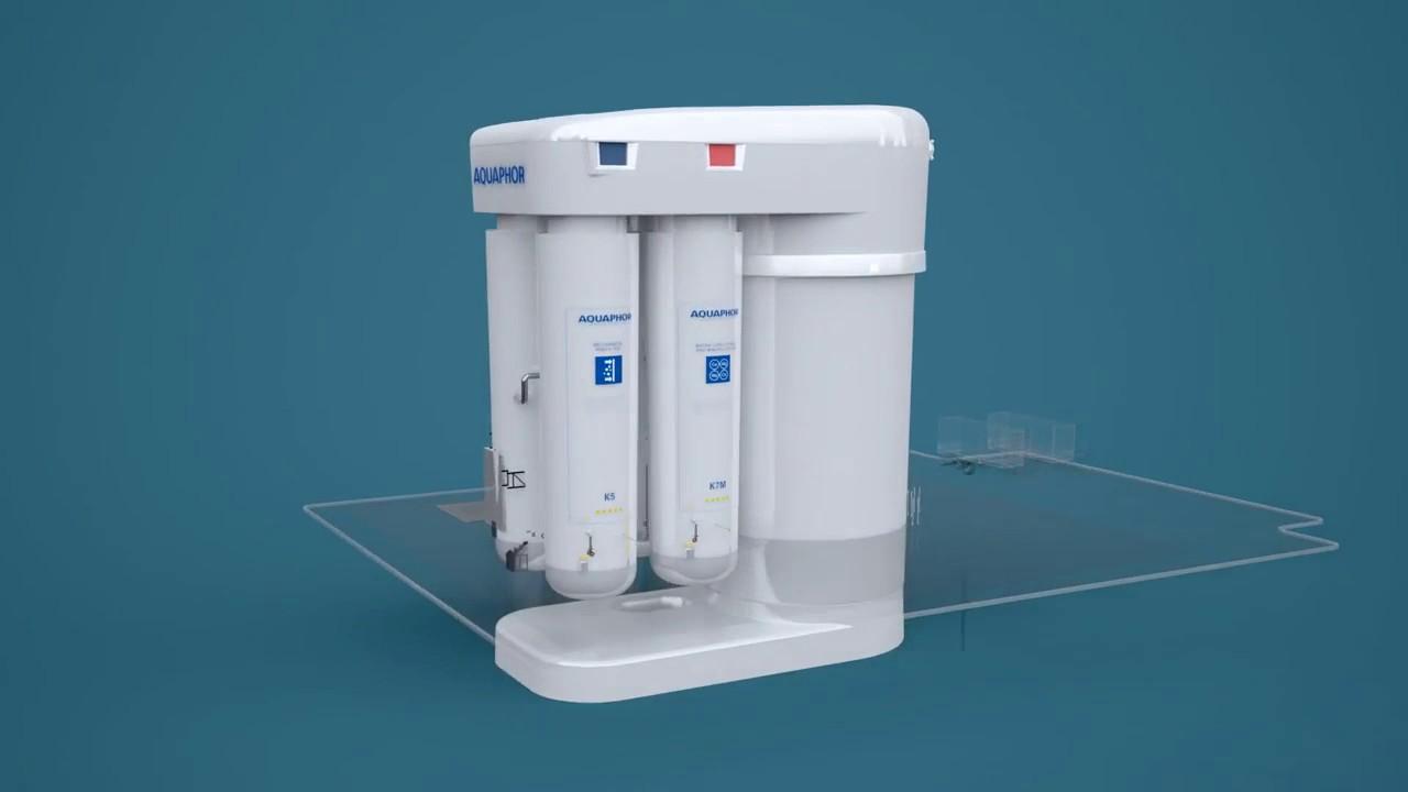 Автомат питьевой воды аквафор dwm-101s. Система обратного осмоса аквафор морион с минерализатором!. Основное отличие от базовой модели минерализатор, который насыщает уже очищенную воду кальцием и магнием и придает воде приятный вкус. Система обратного осмоса аквафор.