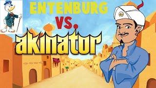 Entenburg vs. Akinator (dieser Hornochse von Dschinni!)