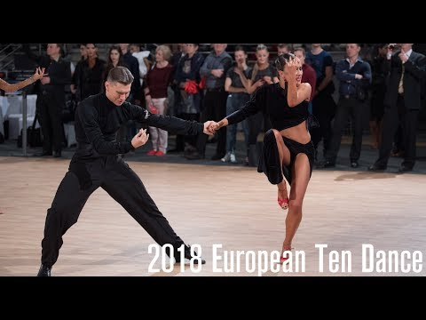 2018 WDSF European 10D | The Latin Final | DanceSportTotal