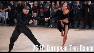 2018 European 10D | The LAT Final | DanceSport Total