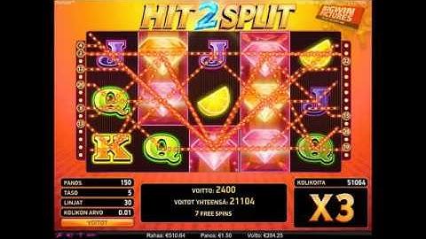 Hit 2 Split Slot - Free Games!
