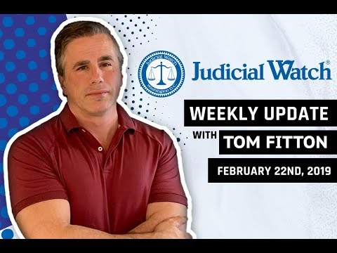 Tom Fitton's Weekly Update - Coup against Trump, FBI Cover-Up of Potential Clinton Crimes, & More!