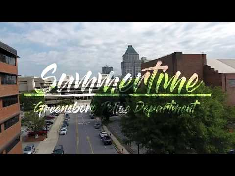 Greensboro Police Department Lip Sync Challenge Video - Summertime