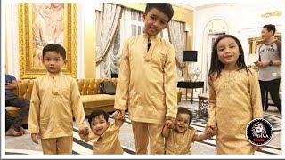 Video Koleksi anak-anak Dato Aliff Syukri layan Ameena dan Qayyum macam adik beradik kandung download MP3, 3GP, MP4, WEBM, AVI, FLV Agustus 2018