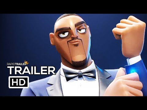 SPIES IN DISGUISE Official Trailer (2019) Will Smith, Tom Holland Animated Movie HD