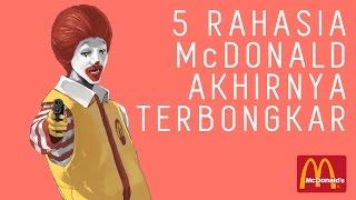 TOP 5 FAKTA - RAHASIA MCDONALD'S TERUNGKAP ! #TOP5