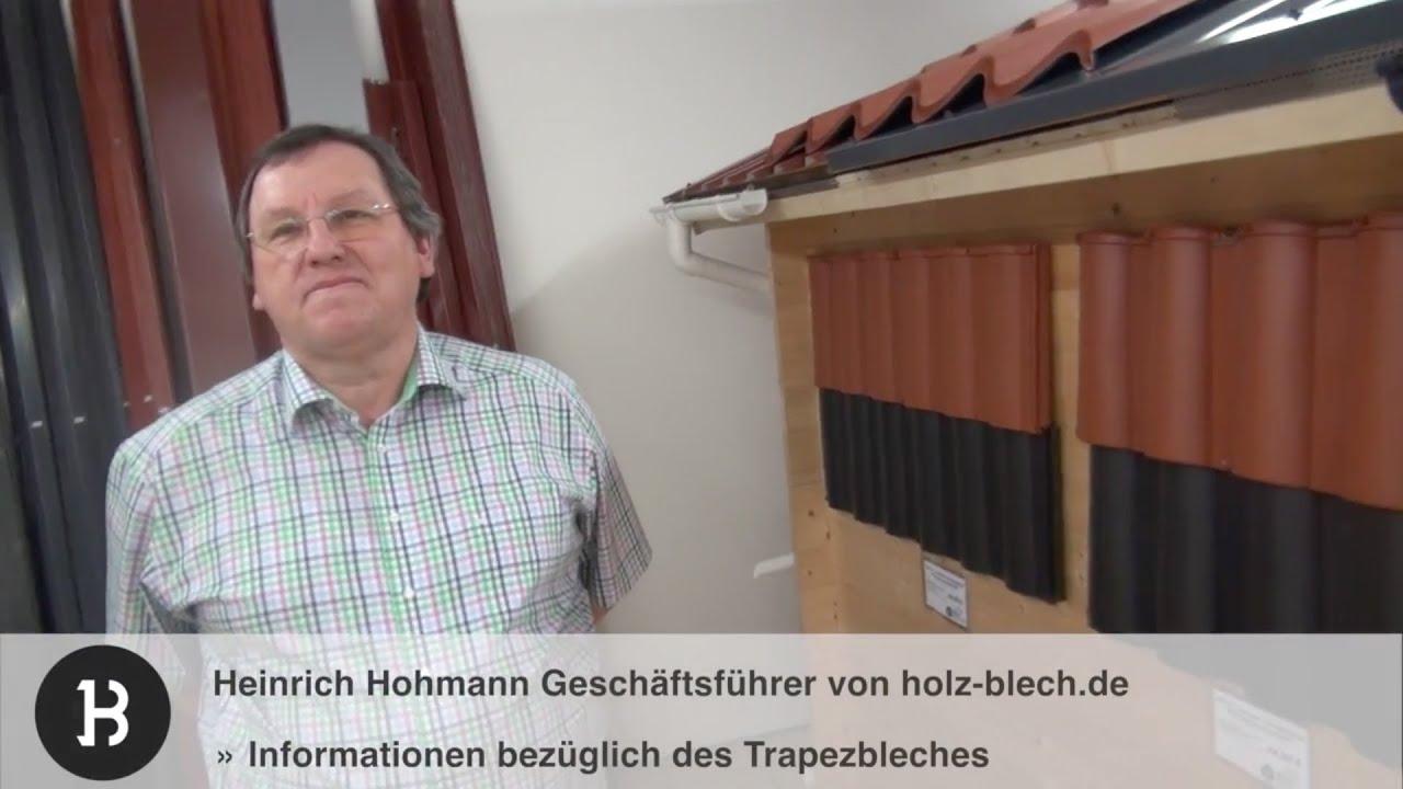 informationen zum trapezblech für gartenhäuser | holz-blech.de, Moderne