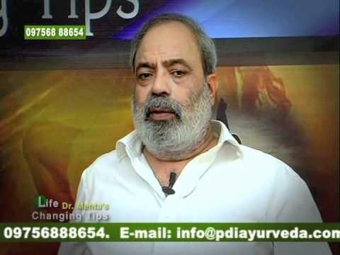 Ayurveda   Allergy problems tips (Hindi) - Dr. Anil K. Mehta (PDI, AGN, EISRA)