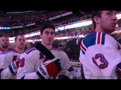 Rangers at Senators - 11/14/15 - French, American, and Canadian National Anthems
