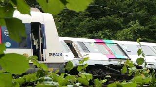 Intempéries en France: 7 blessés légers dans un accident de RER