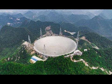 World's largest single-dish radio telescope 'FAST'