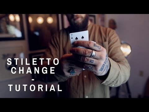 STILETTO CHANGE - Color Change TUTORIAL