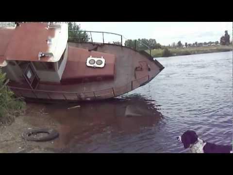 видео: Спуск катера 4