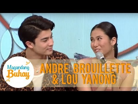 Lou and Andre defend the authenticity of their relationship to their doubters | Magandang Buhay
