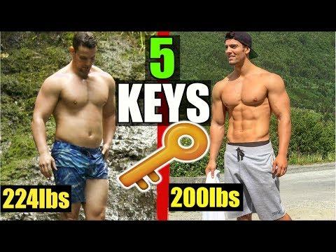 TOP 5 TIPS TO LOSE FAT QUICKLY! | JON VENUS