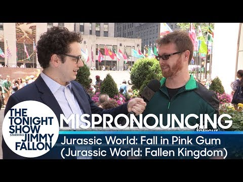 Download Youtube: Mispronouncing Jurassic World: Fall in Pink Gum (Jurassic World: Fallen Kingdom)