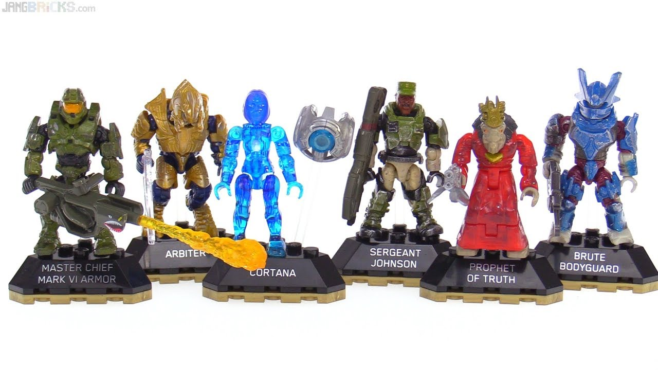 Mega Construx Halo Heroes Series 5 Full Collection Review