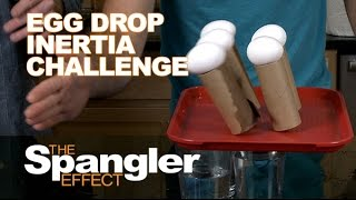 Egg Drop Inertia Challenge - The Spangler Effect