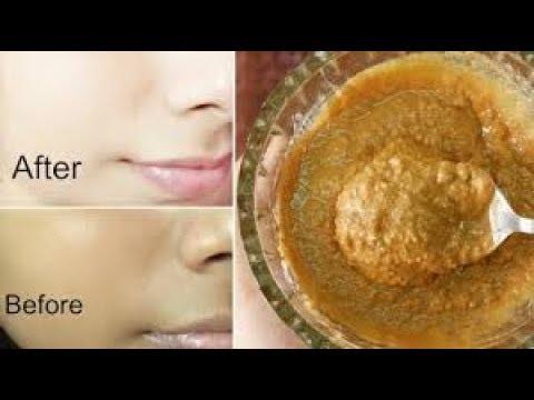 Almond facial recipe